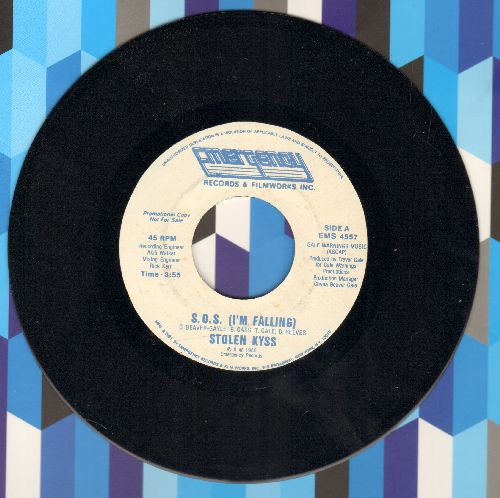 Stolen Kyss - S.O.S. (I'm Falling) (RARE double-A-sided DJ advance pressing) - NM9/ - 45 rpm Records