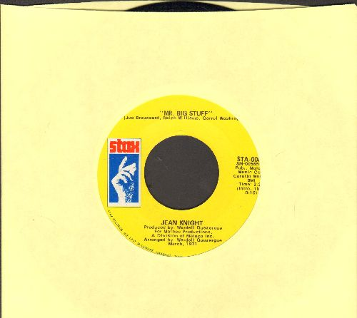 Knight, Jean - Mr. Big Stuff/Why I Keep Living These Memories  - NM9/ - 45 rpm Records
