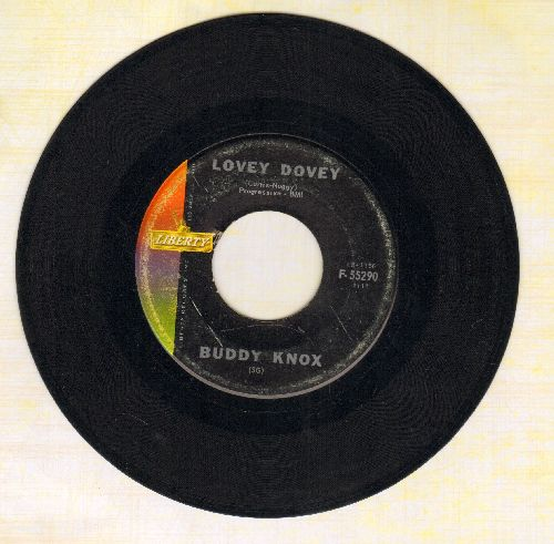 Knox, Buddy - Lovey Dovey/I Got You  - VG7/ - 45 rpm Records