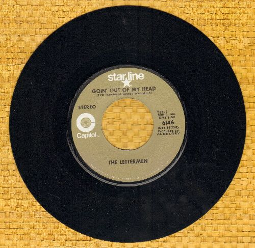 Lettermen - Goin' Out Of My Head/Hurt So Bad (double-hit re-issue) - M10/ - 45 rpm Records
