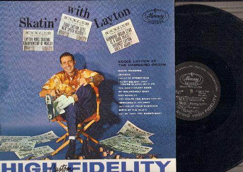 Layton, Eddie - Skatin' With Layton: Makin' Whoopee, 12th Street Rag, My Melancholy Baby, Hernando's Hideaway, The Anniversary Song (vinyl MONO LP record) - NM9/NM9 - LP Records