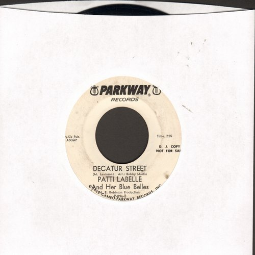LaBelle, Patti & The Blue Belles - You'll Never Walk Alone/Decatur Street (DJ advance pressing) - VG7/ - 45 rpm Records