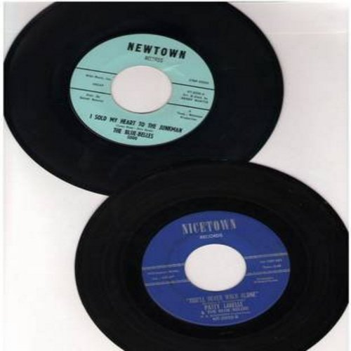 LaBelle, Patti & The Blue Belles - 2 for 1 Special: I Sold My Heart To The Junkman/You'll Never Walk Alone (2 vintage first issue 45rpm records for the price of 1!) - EX8/ - 45 rpm Records