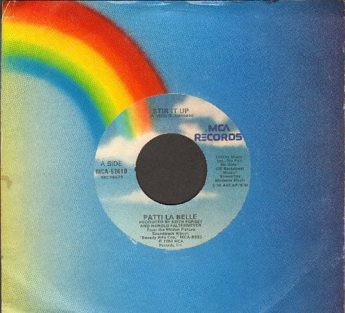 LaBelle, Patti - Stir It Up/The Discovery (by Harold Faltermeyer on flip-side) (with MCA company sleeve) - EX8/ - 45 rpm Records