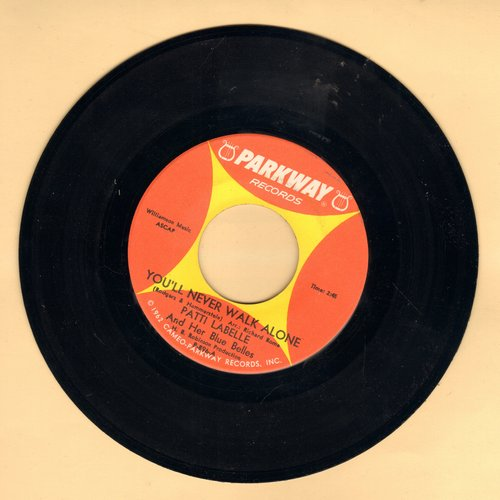 LaBelle, Patti & Her Blue Belles - You'll Never Walk Alone/Decatur Street (minor wol) - VG7/ - 45 rpm Records