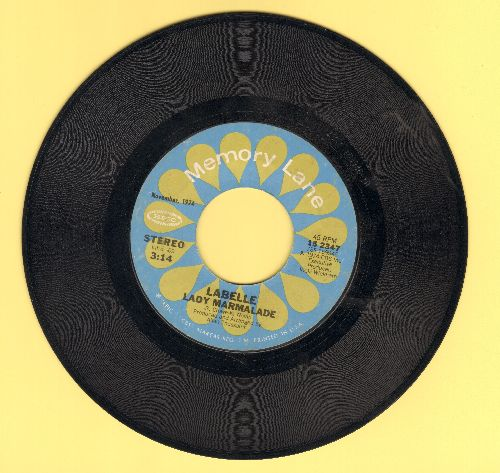 LaBelle - Lady Marmalade/What Can I Do For You? (double-hit re-issue) - EX8/ - 45 rpm Records
