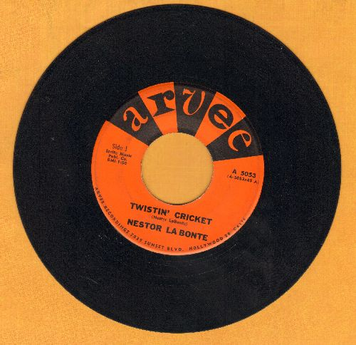 La Bonte, Nestor - Twistin' Cricket/Jeannette  - EX8/ - 45 rpm Records