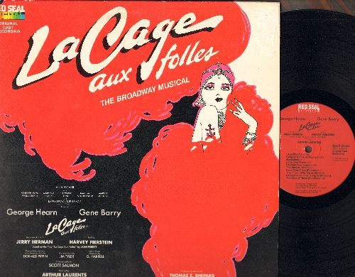 La Cage Aux Folles - La Cage Aux Folles - Original Broadway Cast Recording (Vinyl STEREO LP record, Red Seal Digital pressing, gate-fold cover) - EX8/EX8 - LP Records