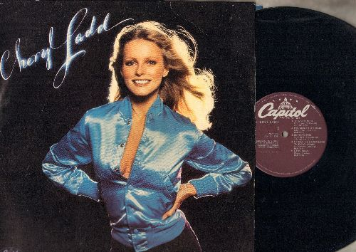 Ladd, Cheryl - Cheryl Ladd: Think It Over,Walking In The Rain, Good Good Lovin' (vinyl STEREO LP record) - NM9/NM9 - LP Records
