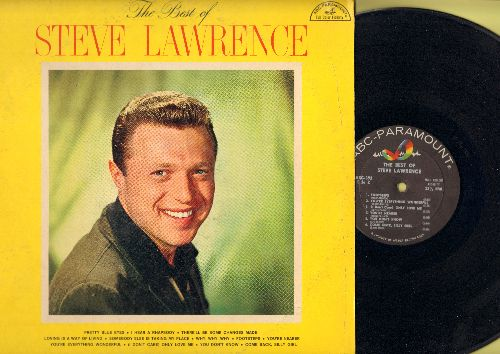 Lawrence, Steve - The Best Of: Pretty Blue Eyes, Loving Is A Way Of Living, Footsteps, You're Nearer, Come Back Silly Girl (Vinyl MONO LP record) - NM9/VG7 - LP Records