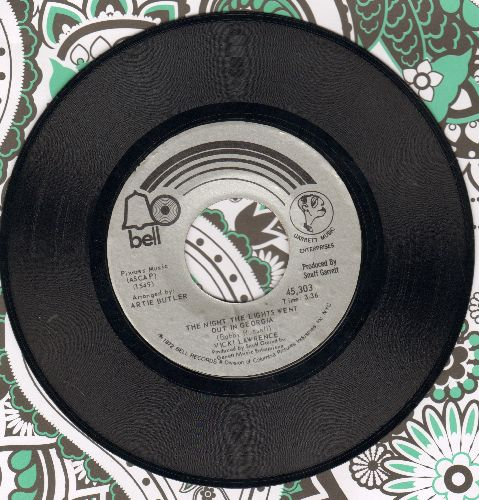 Lawrence, Vicki - The Night The Lights Went Out In Georgia/Dime A Dance  - NM9/ - 45 rpm Records