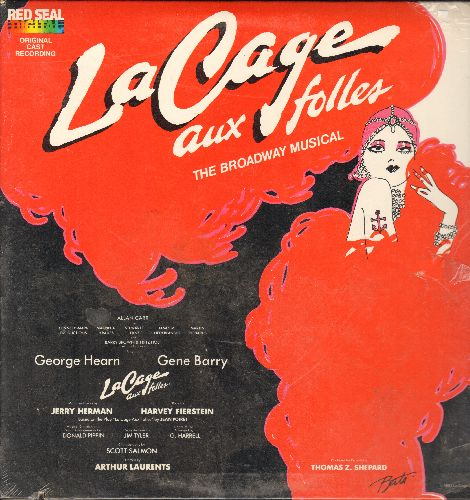 La Cage Aux Folles - La Cage Aux Folles - Original Broadway Cast Recording (Vinyl STEREO LP record, Red Seal Digital pressing) - SEALED/SEALED - LP Records