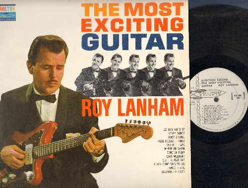 Lanhan, Roy - The Most Exciting Guitar: Body & Soul, Steel Guitar Rag, Lover Come Back To Me (MONO LP record, DJ advance pressing) - EX8/NM9 - LP Records