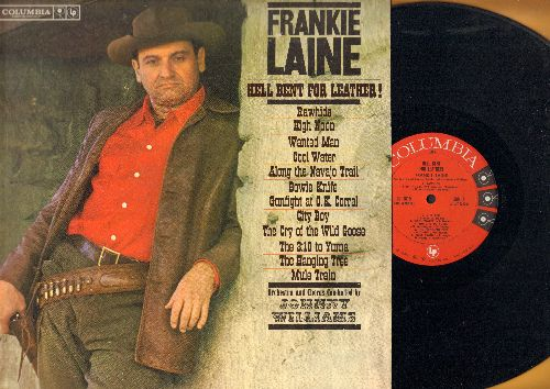 Laine, Frankie - Hell Bent For Leather!: Rawhide, High Noon, Cool Water, The Hanging Tree, Mule Train (Vinyl MONO LP record, NICE condition!) - M10/NM9 - LP Records