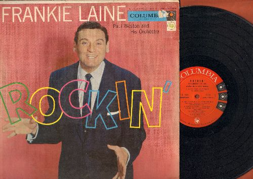 Laine, Frankie - Rockin': So Black And Blue, That's My Desire, Rockin' Chair, On The Sunny Side Of The Street, That Lucky Old Sun (Vinyl MONO LP record) - NM9/EX8 - LP Records