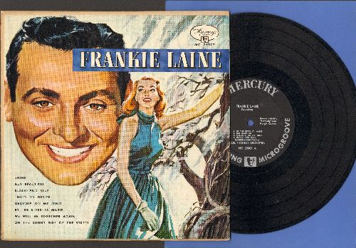 Laine, Frankie - Frankie Laine Favorites: Black And Blue, That's My Desire, Georgia On My Mind, On The Sunny Side Of The Street (10 inch vinyl MONO LP record) - EX8/EX8 - LP Records