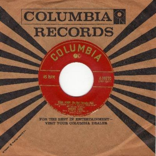 Laine, Frankie - High Noon (Do Not Forsake Me)/Rock Of Gibraltar (with Columbia company sleeve) - NM9/ - 45 rpm Records