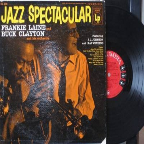 Laine, Frankie & Buck Clayton & His Orchestra - Jazz Spectacular: S'posin', My Old Flame, Roses Of Picardy, Until The Real Thing Comes Along (Vinyl MONO LP record) - EX8/VG7 - LP Records