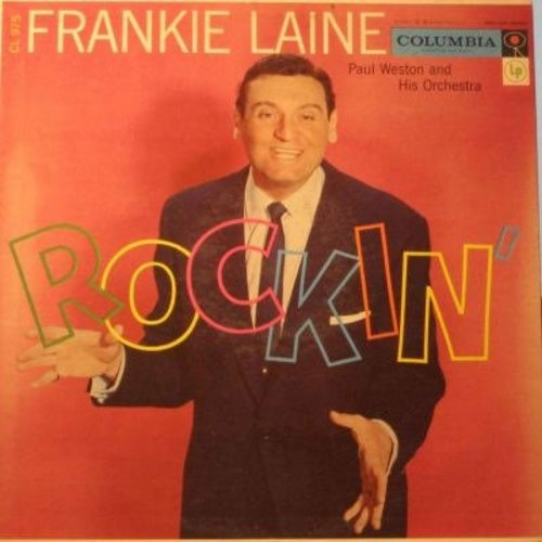Laine, Frankie - Rockin': So Black And Blue, That's My Desire, Rockin' Chair, On The Sunny Side Of The Street, That Lucky Old Sun (Vinyl MONO LP record) - EX8/VG7 - LP Records