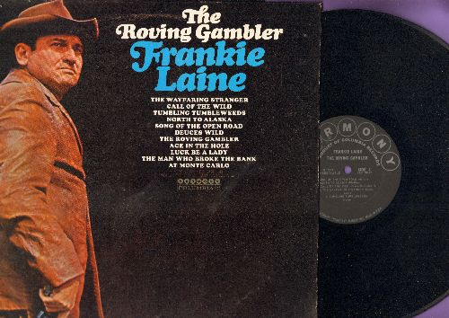 Laine, Frankie - Tumbling Tumbleweeds, North To Alaska, Luck Be A Lady (Vinyl MONO LP record) - NM9/EX8 - LP Records