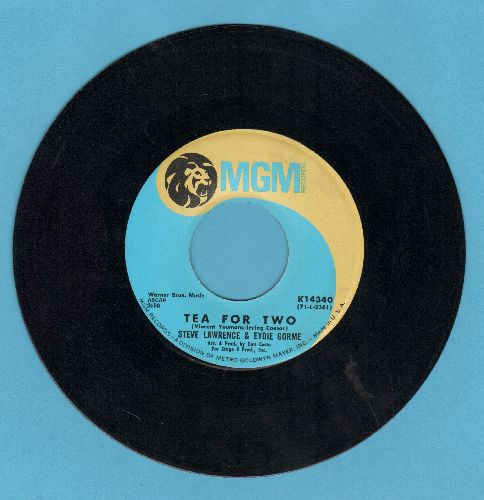Lawrence, Steve & Eydie Gorme - Tea For Two/Lead Me On  - EX8/ - 45 rpm Records