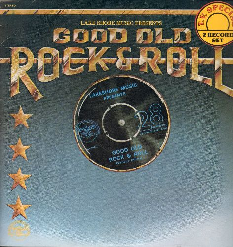 Harris, Thurston, Coasters, Mary Wells, Impalas, others - Good Old Rock & Roll: This Diamond Ring, Count Me In, My Guy, Rockin' Robin, Poison Ivy, more! (2 vinyl LP record set) - NM9/NM9 - LP Records
