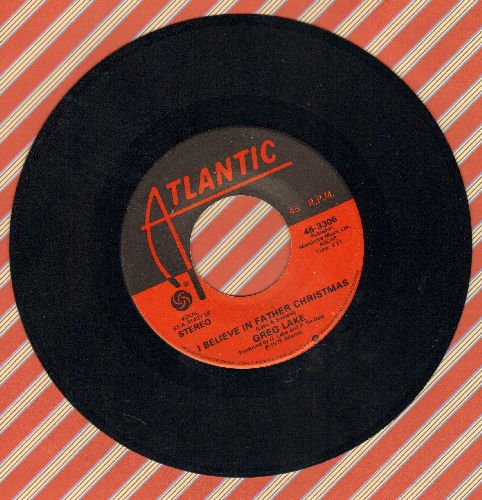 Lake, Greg - I Believe In Father Christmas/Humbug  - NM9/ - 45 rpm Records