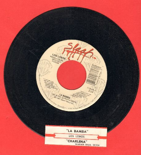 Los Lobos - La Bamba/Charlena (with juke box label) - EX8/ - 45 rpm Records
