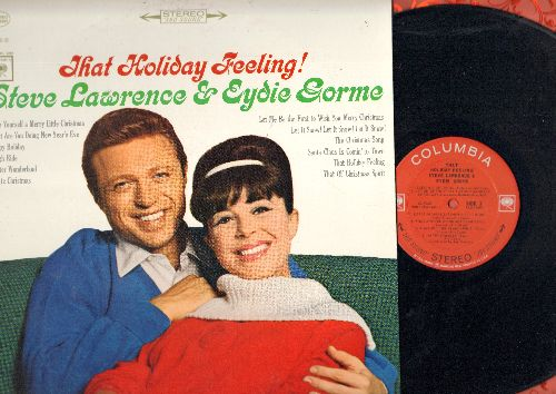 Lawrence, Steve & Eydie Gorme - That Holiday Feeling!: Have Yourself A Merry Little Christmas, Winter Wonderland, Santa Claus Is Comin' To Town, What Are You Doing New year's Eve? (vinyl STEREO LP record) - NM9/EX8 - LP Records