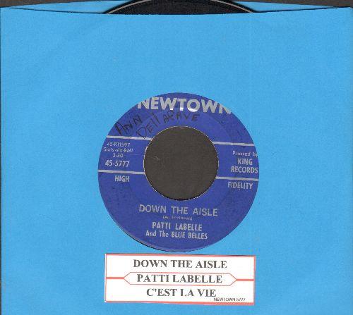 LaBelle, Patti & Her Blue Belles - To The Aisle/C'est La Vie (with juke box label)(wol) - EX8/ - 45 rpm Records