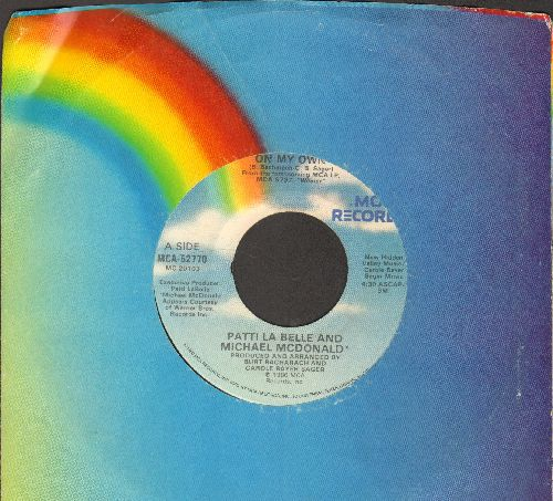 LaBelle, Patti & Michael McDonald - On My Own/Stir It Up (with MCA company sleeve) - NM9/ - 45 rpm Records
