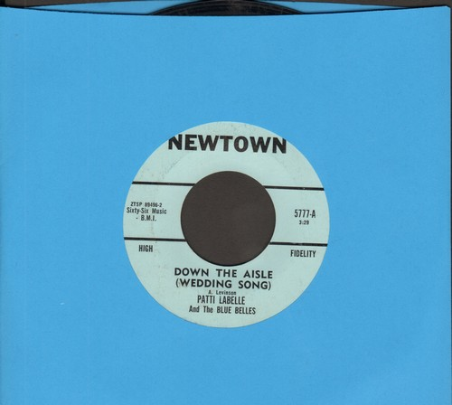 LaBelle, Patti & The Blue Belles - Down The Aisle (Wedding Song)/C'est La Vie (So Goes Life)(bb) - VG7/ - 45 rpm Records