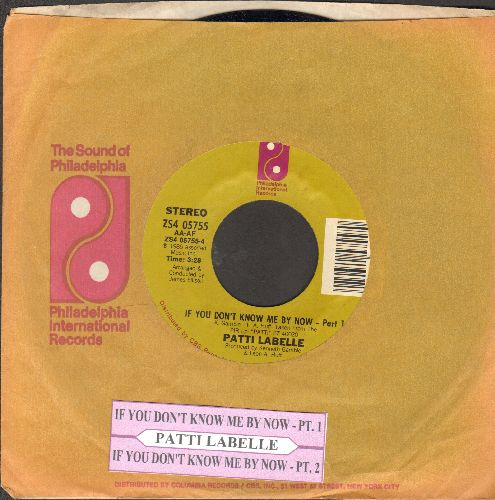 LaBelle, Patti - If You Don't Know Me By Now (Parts 1 + 2 with juke box label and company sleeve) - NM9/ - 45 rpm Records
