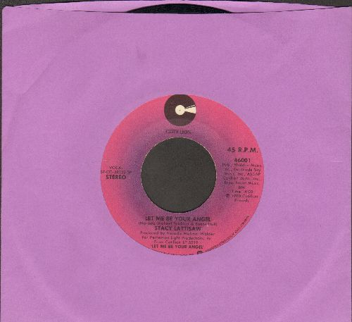 Lattisaw, Stacy - Let Me Be Your Angel/You Don't Love Me Anymore - EX8/ - 45 rpm Records
