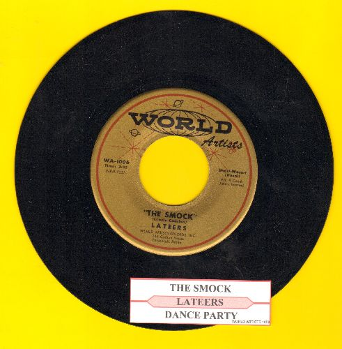 Lateers - Dance Party/The Smock (with juke box label) - NM9/ - 45 rpm Records