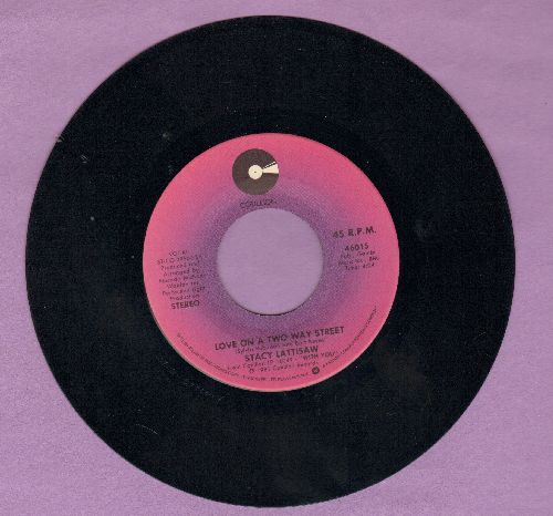 Lattisaw, Stacy - Love On A Two Way Street/Baby I Love You - NM9/ - 45 rpm Records