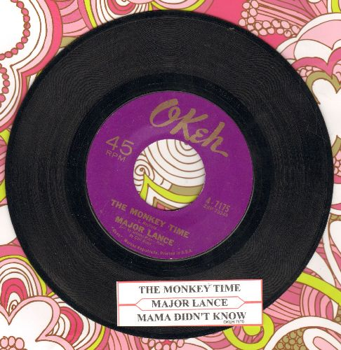 Lance, Major - The Monkey Time/Mama Didn't Know (with juke box label) - EX8/ - 45 rpm Records