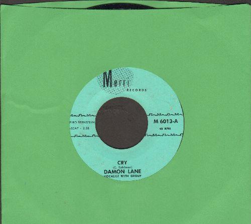 Lane, Damon - Cry/I've Got My Pride (RARE Psychedelic 2-sider!) - NM9/ - 45 rpm Records