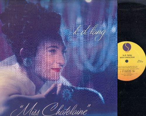 lang, k. d. - Miss Chatelaine - 12 inch vinyl Maxi Single with 4 Extended Tracks, with picture cover. - NM9/VG7 - Maxi Singles