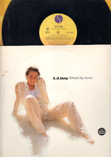 lang, k. d. - Lifted By Love (Elevate Your Love Mix)/No More Tears (Classic Club Mix)/Lifted By Love (Radio Remix) (12 inch vinyl Maxi Single with picture cover) - NM9/VG7 - Maxi Singles