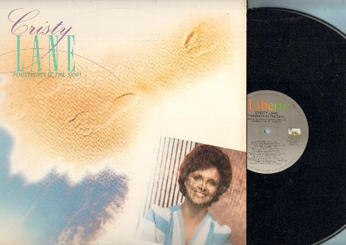 Lane, Cristy - Footprints In The Sand: I've Come Back, Miracle Maker, Thank God And You For My Life, The Lord's Prayer (vinyl LP record) - NM9/NM9 - LP Records
