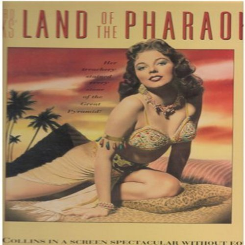 Land Of The Pharaohs - Land Of The Pharaohs - Letter Box Widescreen format LASER DISC of the 1955 Howard Hawks Biblical Epic starring a young Joan Collins (This is a LASER DISC, NOT ANY OTHER KIND OF MEDIA!) - NM9/NM9 - Laser Discs