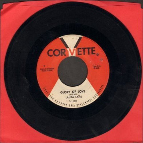 Lane, Laura - Glory Of Love (FANTASTIC up-beat 1950s version of the Standard)/Soon I'll Wed My Love - EX8/ - 45 rpm Records