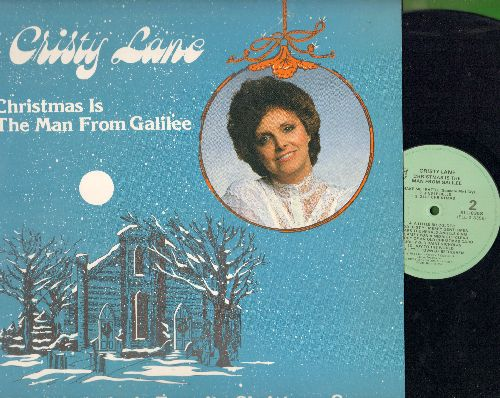 Lane, Cristy - Christmas Is The Man From Galilee - 21 Of America's Favorite Christmas Songs (vinyl LP record) - NM9/NM9 - LP Records