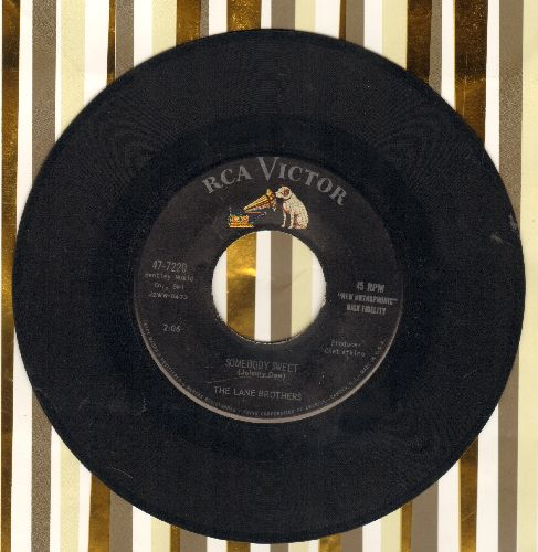 Lane Brothers - Somebody Sweet/Boppin' The Jack  - VG7/ - 45 rpm Records