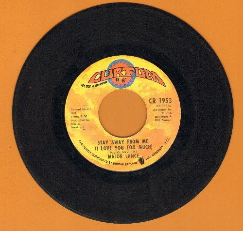 Lance, Major - Stay Away From Me (I Love You Too Much)/Gypsy Woman - VG7/ - 45 rpm Records