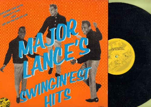 Lance, Major - Major Lance's Swingin'est Hits: The Monkery Time, Um Um Um Um Um Um, Don't Fight It, Delilah, Hey Little Girl (vinyl STEREO LP record, 1984 issue of vintage recordings) - NM9/NM9 - LP Records