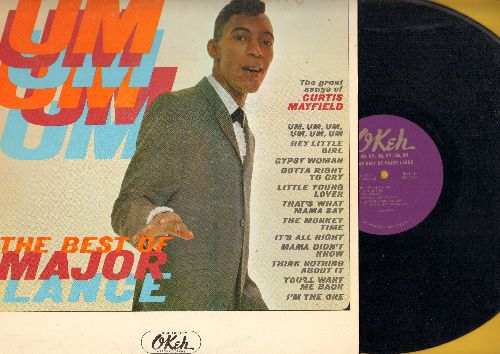 Lance, Major - Um, Um, Um, Um, Um - The Best Of Major Lance: The Monkey Time, Mama Didn't Know, Gypsy Woman, I'm The One (vinyl MONO LP record) - NM9/EX8 - LP Records