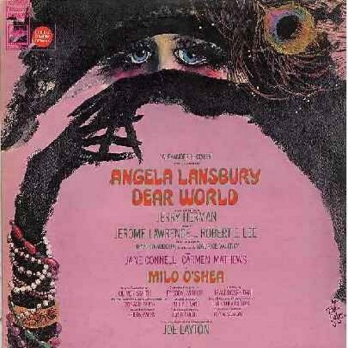 Lansbury, Angela - Dear World - Original Broadway Cast Production (Vinyl STEREO LP record, gray label first issue) - M10/EX8 - LP Records