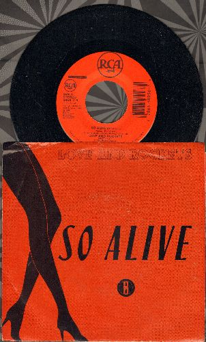 Love And Rockets - So Alive (4:15)/Dreamtime (8:40)(with picture sleeve)(wos) - NM9/VG7 - 45 rpm Records